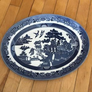 Johnson brothers serving plate